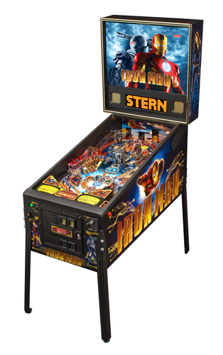 Iron Man Pro Stern Pinball Machine. (PRNewsFoto/Stern Pinball, Inc.)