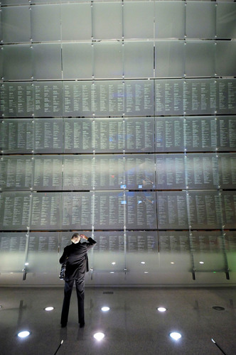 The Journalists Memorial at the Newseum. With this year's addition of 90 names from 2012 and previous ...