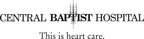 Organization name and logo.  (PRNewsFoto/Central Baptist Hospital)