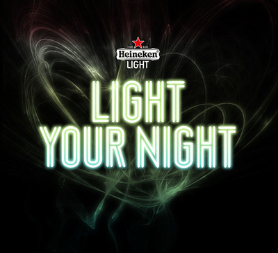 "Heineken(R) Light: ""Light Your Night"".  (PRNewsFoto/Heineken USA)"