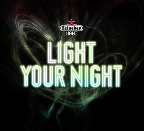 "Heineken(R) Light: ""Light Your Night"". (PRNewsFoto/Heineken USA) (PRNewsFoto/HEINEKEN USA)"