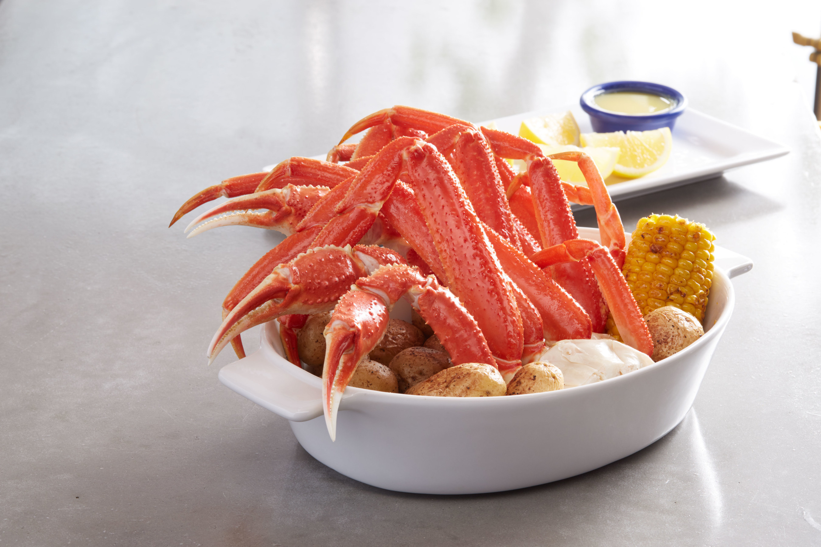 During Crabfest, guests can enjoy Red Lobster's NEW! Wild-Caught Crab Legs Dinner with the choice of a generous portion of three selections of wild-caught crab legs - Alaska Bairdi crab, North American snow crab or king crab.