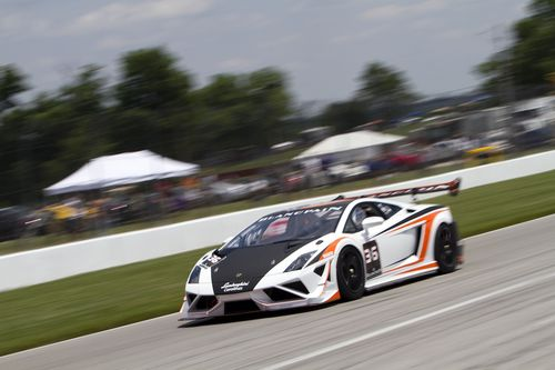 Lamborghini Blancpain Super Trofeo racing arrives in North America with a recent demonstration run at Mid-Ohio.