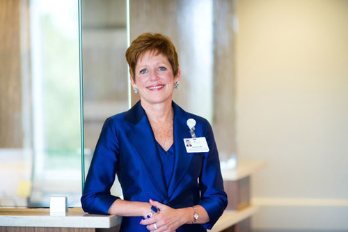 Kathy Guyette, RN, MSN, Senior Vice President of Patient Care Services for Mission Health.  (PRNewsFoto/Mission  ...