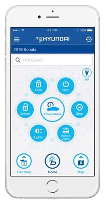 HYUNDAI LAUNCHES NEW ALL-IN-ONE OWNER'S APP TO ENHANCE CUSTOMER EXPERIENCE - Hyundai is debuting a new mobile app for owners called MyHyundai with Blue Link. The new app integrates services currently available in the previously separate Blue Link and Car Care mobile apps.