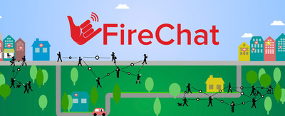 """Open Garden Releases FireChat App Enabling """"Chatting Off the Grid"""""""