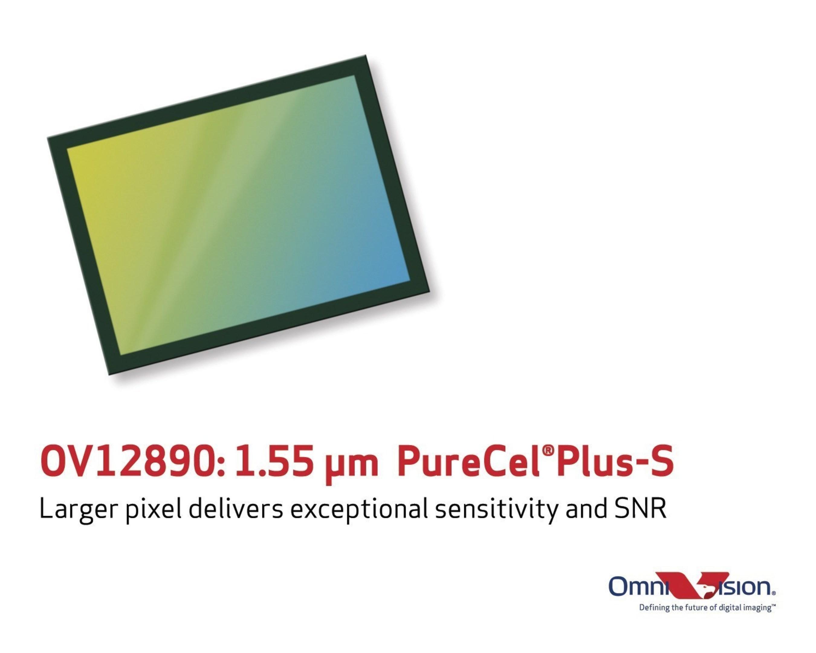 OmniVision's OV12890 PureCel(R)Plus-S sensor