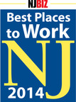 Best Places to Work in NJ.  (PRNewsFoto/Parker Ibrahim & Berg)