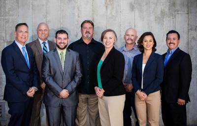 OpTerra Sacramento team members (L-R): Jeff Prosswimmer, Chuck Allured, Mohamad Ali (UC Davis intern), Russ Hudson, Heather Benner, Dan Usher, Carolyn Kiesner, and Steve Ramirez.