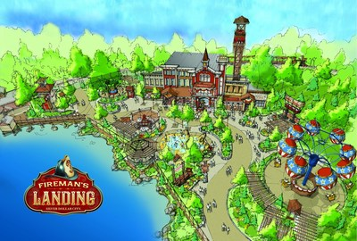 New for 2015, Silver Dollar City presents Fireman's Landing, an $8 million development with 10 new family adventures in an all new area.