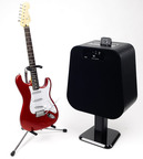 Become a rock star with NYNE's NH-6500 home audio speaker that is also a guitar amplifier.  (PRNewsFoto/NYNE)