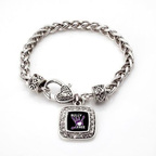 Bullying Awareness Bracelet with Charm available at InspiredSilver.com.  (PRNewsFoto/Inspired Silver)