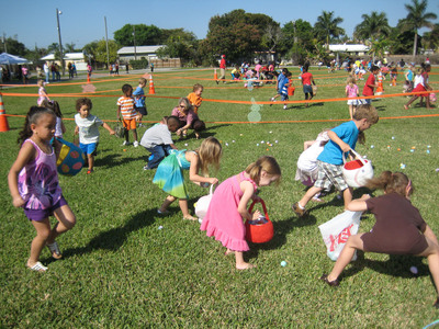 St. Clement Church will be Easter Egg Central during Wilton Manors Leisure Services' Spring Festival Eggstravaganza on April 5th