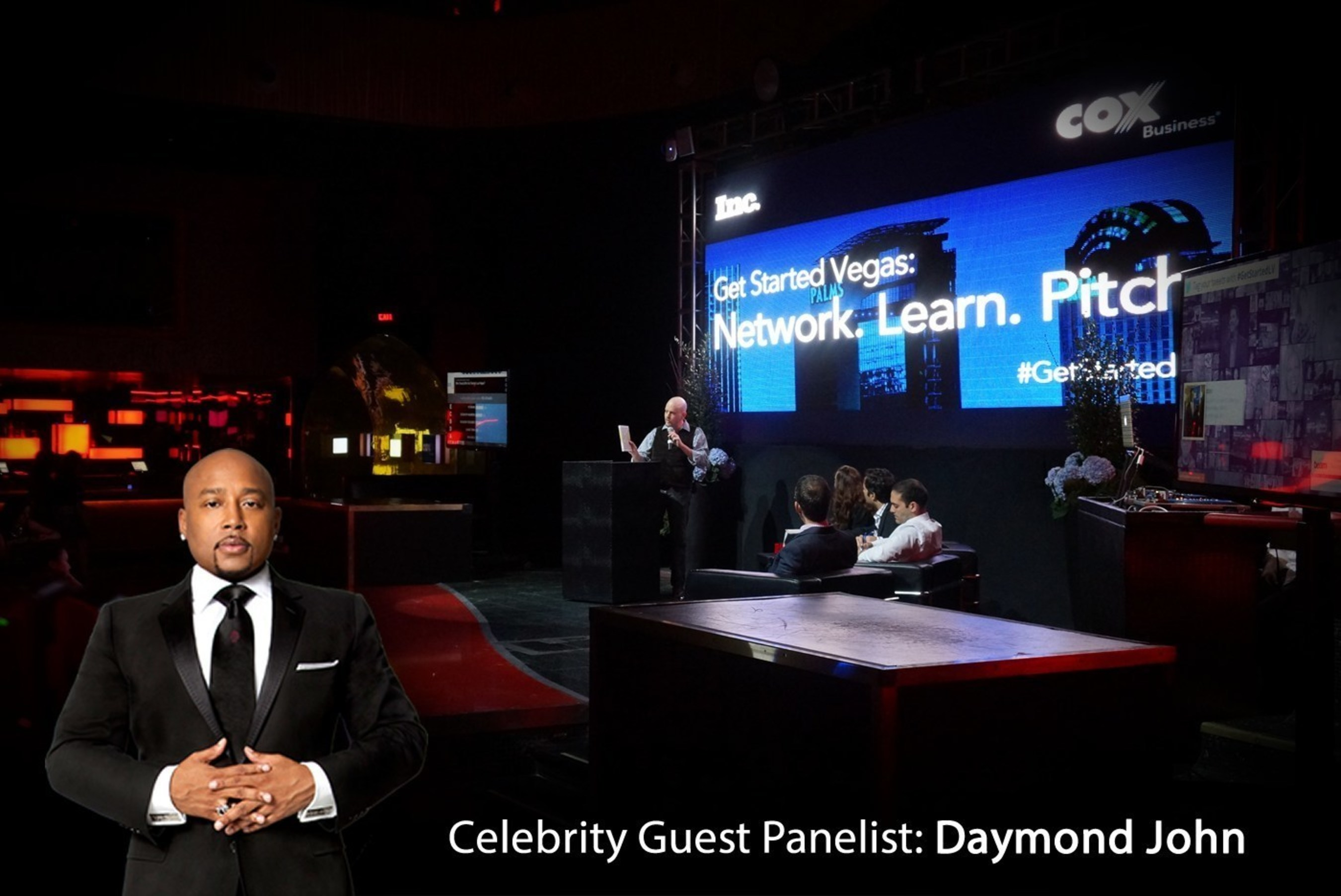 Renowned Entrepreneur Daymond John Joins Judging Panel for Cox Business and Inc. Magazine's Get Started Las Vegas Pitch Competition