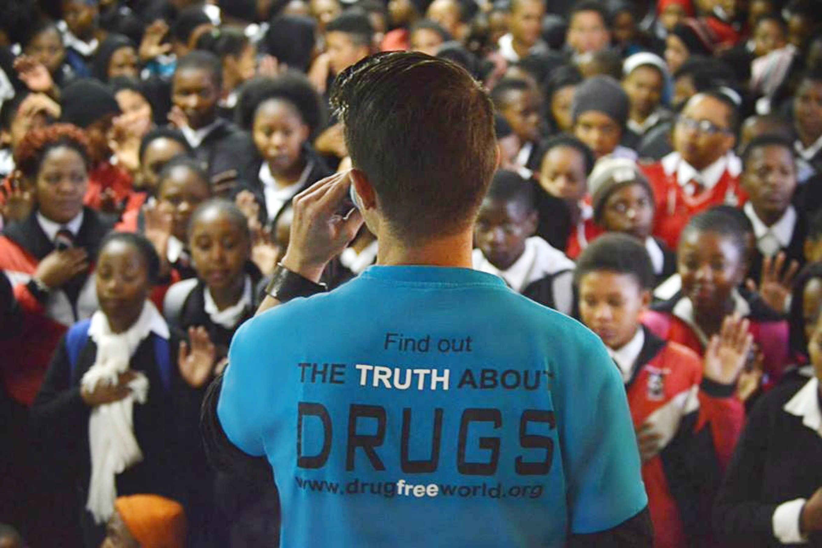 Drug-Free World Africa Coordinator Honored at South African Men of the Year Awards Celebration