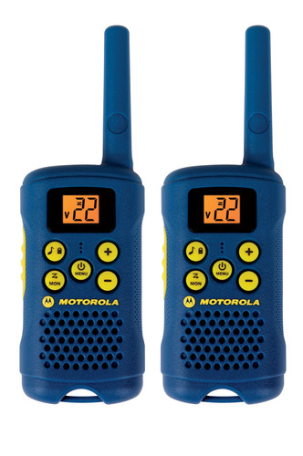 Motorola Solutions TALKABOUT® MG160 Consumer Radios - Perfect Stocking Stuffer for Kids