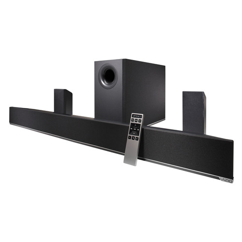 "VIZIO Unveils Premium 42"" and 54"" 5.1 Home Theater Sound Bars, Delivering Big Audio to Complete the Big Screen Experience-Full Sound Bar Line-Up Features Stunning Modern Design with Advanced Convenience Features like Bluetooth in a Range of Sizes to Fit Your HDTV.  (PRNewsFoto/VIZIO, Inc.)"