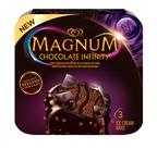 MAGNUM(R) Chocolate Infinity bars. (PRNewsFoto/MAGNUM Ice Cream)