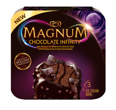 MAGNUM® Ice Cream Takes Chocolate Indulgence to New Heights with U.S. Launch of MAGNUM® Infinity