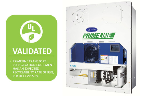 Carrier Transicold PrimeLINE® Units Now First in Recyclability