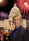 "The festivities for our country's 238th birthday kick off on PBS's ""A Capitol Fourth"" with an all-star salute led by two-time Emmy Award-winning television personality Tom Bergeron.  The 34th annual broadcast of ""A Capitol Fourth"" airs on PBS Friday, July 4, 2014 from 8:00 to 9:30 p.m. ET. (PRNewsFoto/Capital Concerts)"