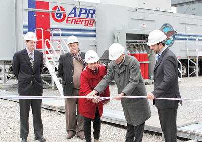 APR Energy Announces Commercial Operation of 200MW Power Generation Project in Uruguay.  (PRNewsFoto/APR Energy)