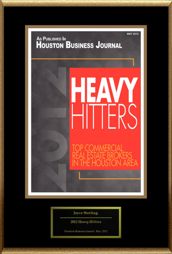 Joyce Sterling of Cypressbrook Company Selected For '2012 Heavy Hitters'