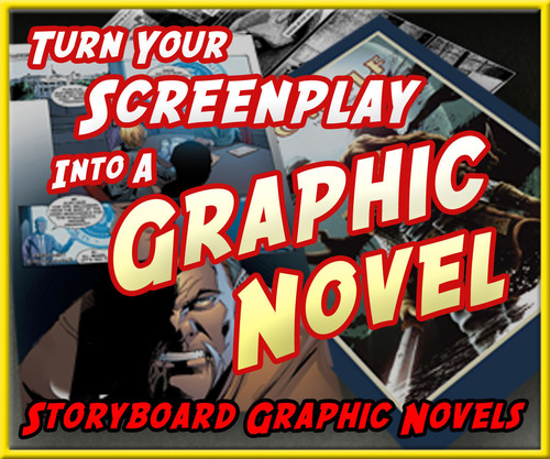 Storyboard Graphic Novels has clients that include screenwriters, producers, directors and actors.  (PRNewsFoto/Storyboard Graphic Novels)