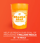 Purchase this collectible cup for $1 at any of Orange Leaf Frozen Yogurt's more than 300 participating locations and proceeds will go to No Kid Hungry to help end childhood hunger in America.