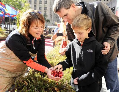 On Thursday, Sept. 22, Ocean Spray's Cranberry Classroom in Rockefeller Center(R) will give passers-by the chance to learn about how the cranberry is grown and harvested through its 1,500 sq. ft. cranberry bog display and interactive educational stations.
