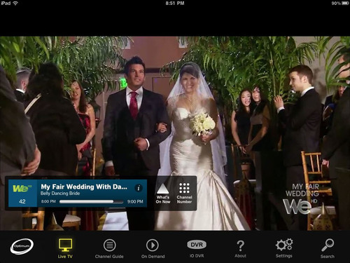Cablevision's New Optimum App Delivers the Full Cable Television Experience to an iPad in the Home