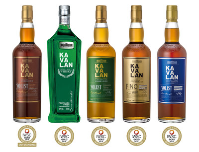 Kavalan Solist Port wins 2016 IWSC Gold Outstanding