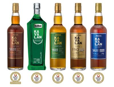 Kavalan Solist Port wins 2016 IWSC Gold Outstanding