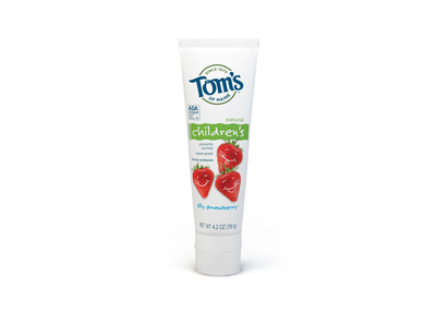 No sparkles needed. With no artificial dyes or sweeteners, Tom's of Maine Children's Anticavity Silly Strawberry Toothpaste is the first and only natural kids toothpaste to have the ADA Seal of Acceptance for cavity prevention.  (PRNewsFoto/Tom's of Maine)