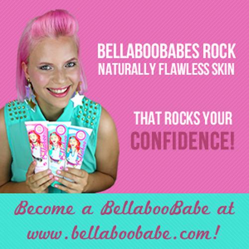 Bellaboobabes rock naturally flawless skin.  (PRNewsFoto/Bellaboo)