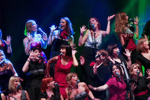 Perpetuum Jazzile performs live March 17 at The Gramercy Theatre in New York. (PRNewsFoto/Perpetuum Jazzile) ...
