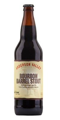 From Barrels To Bottles: Anderson Valley Brewing Company And Wild Turkey(R) Bourbon Expand Bourbon Barrel-Aged Craft Beer Distribution.  (PRNewsFoto/Wild Turkey)