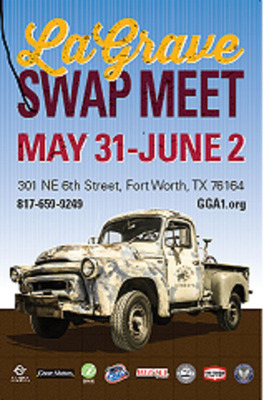 Look for our International Truck at the LaGrave Swap Meet, May 31-June 2, 2013, LaGrave Field - 301 NE 6th, Fort Worth.  (PRNewsFoto/Greatest Generation Aircraft)