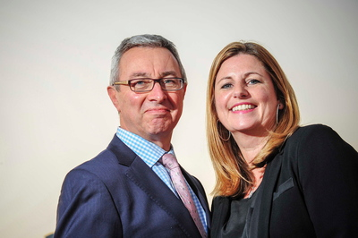 Penton's Aviation Week (https://www.aviationweek.com), the largest multimedia information and services provider for the global aviation, aerospace and defense industries, announces the appointment of Clive Richardson and Alison Weller, Managing Directors, Access Group, to represent and further develop the company's business in Asia, the Middle East and Africa. Photo: Access Group. (PRNewsFoto/Penton) (PRNewsFoto/Penton)