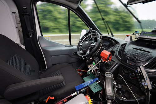 Ford is first automaker to develop robotic technology that drives vehicles during new accelerated high-impact ...