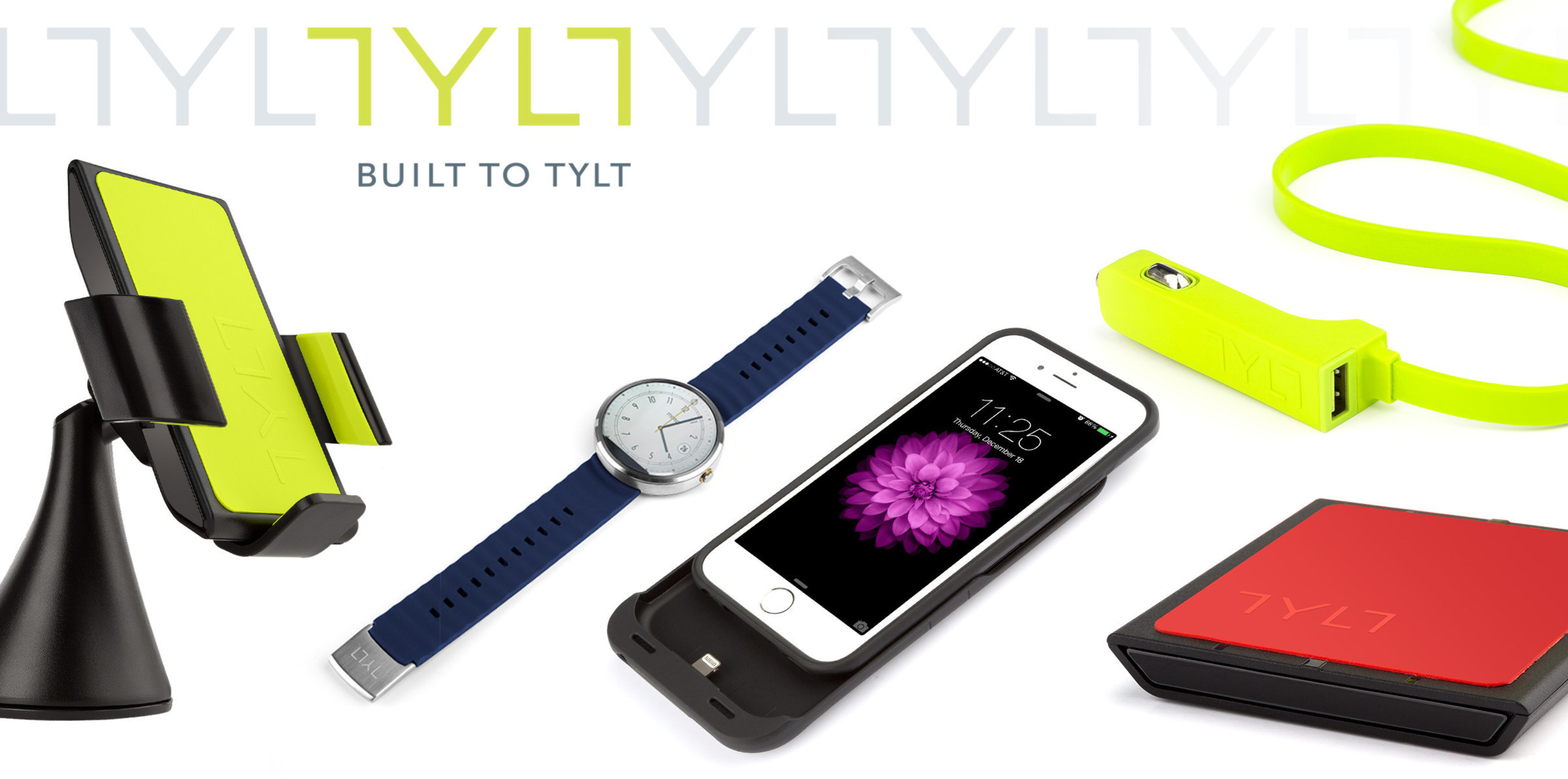 Visit TYLT at booth 30906 - South Hall 3 during CES 2015 to see the company's new charging accessories, ...