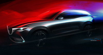 All-new Mazda CX-9 three-row crossover to be introduced at L.A. Auto Show