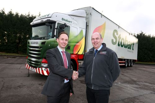 Mike Smith, COO, Stobart Energy (left) and Joe Oâeuro(TM)Carroll, Managing Director, Imperative Energy (right) announced the new strategic partnership between the companies (PRNewsFoto/Stobart Energy Imperative Energy)