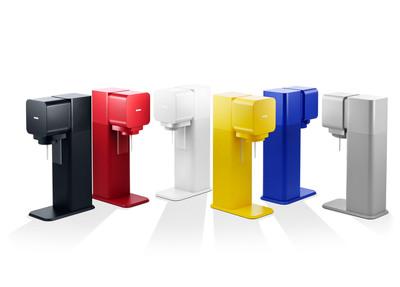 SodaStream Play in Six Colors.  (PRNewsFoto/SodaStream International Ltd.)