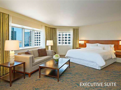 Executive Suite at Westin San Diego.  (PRNewsFoto/DiamondRock Hospitality Company)