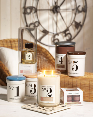 Yankee Candle Coconut Numerical Collection.  (PRNewsFoto/The Yankee Candle Company, Inc.)