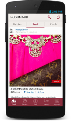 Poshmark Launches on Android to Target Millions of Women's Closets Across America
