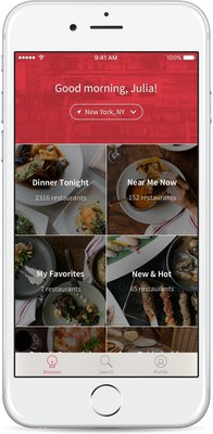 OpenTable App Redesign Helps Travelers and Locals Discover New Dining Experiences