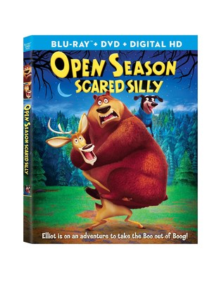 Sony Pictures Animation's OPEN SEASON: SCARED SILLY is coming out on Blu-ray combo pack, DVD and Digital HD March 8, 2016.