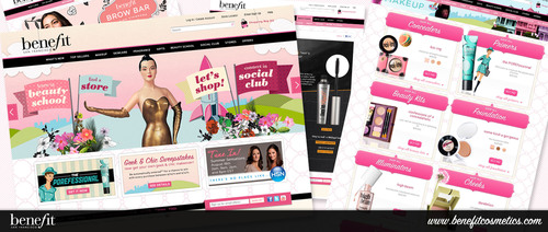 Benefit Cosmetics Launches NEW Website Experience!